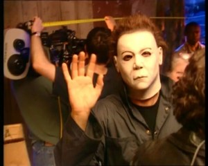 Halloween Resurrection Rick Rosenthal Jamie Lee Curtis 2002 Making of (9)