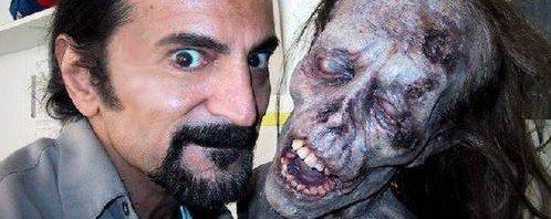 "Splatter king Tom Savini brings ""dead things"" to life remaking Romero"