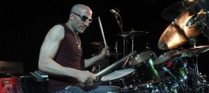 Drum great Kenny Aronoff was never afraid to go for it
