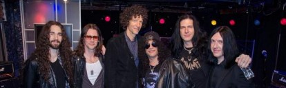 Todd Kerns, the most rockin' Canadian bassist of the 21st century, appears on Howard Stern