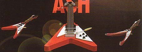 Andy Powell says the Flying V has become a symbol of Wishbone Ash