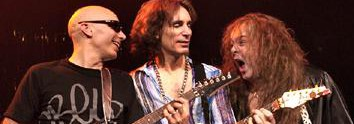 """Steve Vai on cocky G3 tourmate Yngwie Malmsteen and tormented """"genius"""" Devin Townsend"""
