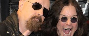 Defender of the faith: Rob Halford only sees the good in Ozzy Osbourne's Sabbath role