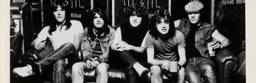 Hangin' with AC/DC while Brian Johnson and Malcolm Young talk Bon Scott