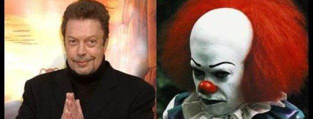 That time I asked Tim Curry if he was a Stephen King fan and he said he liked The Shining