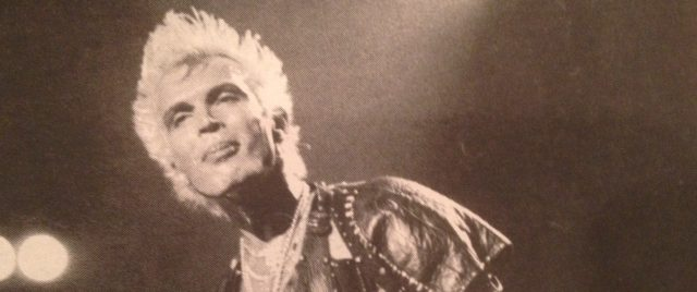 Billy Idol humps the stage and Steve Stevens' guitars rage as the Whiplash Smile tour hits Vancouver