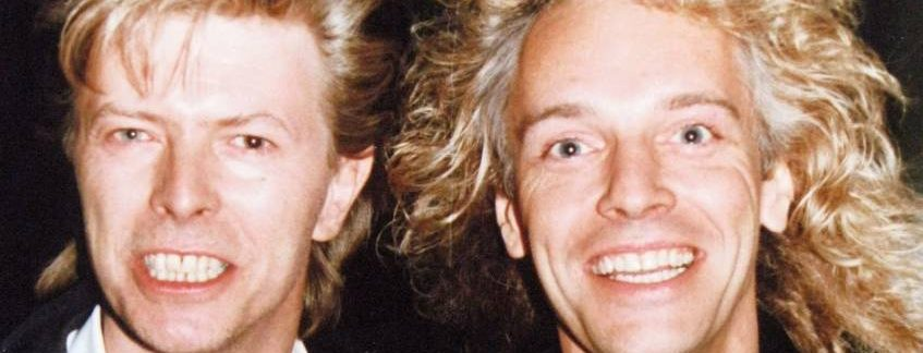 That time Peter Frampton told me that he and David Bowie used to jam at school as kids