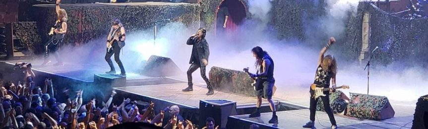 Iron Maiden was the world's best metal band in Vancouver last night