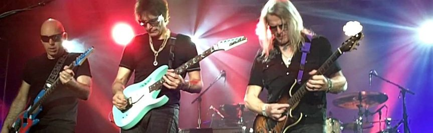That time I asked Steve Morse if the success of Joe Satriani and Steve Vai boded well for instrumental-rock artists
