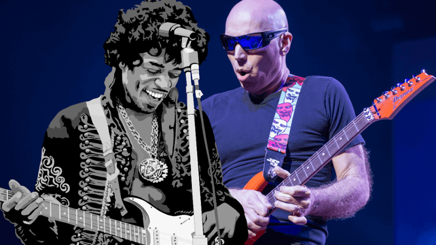 That time Joe Satriani told me that he vowed to take up guitar on the day Jimi Hendrix died