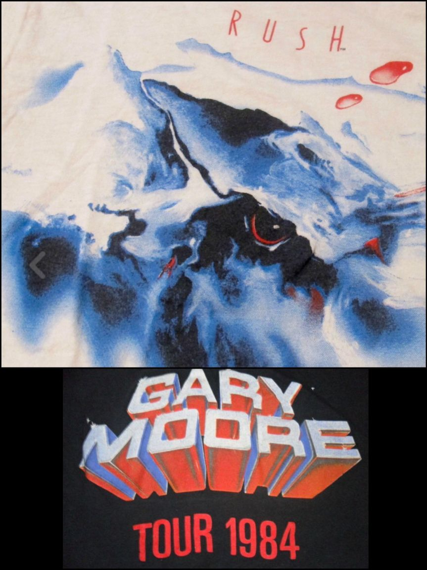 That time I told Gary Moore it was the shits that he wasn't coming to Vancouver with Rush