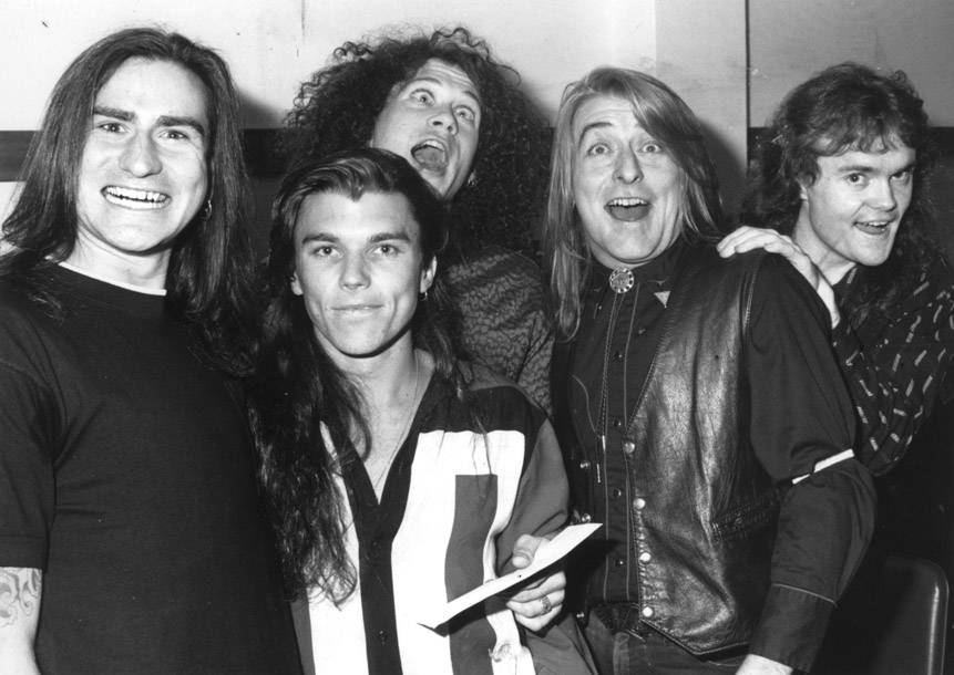 Screaming Jets interview, unpublished for 30 years, shows the Aussie guitar-rockers highly skilled at pissing people off