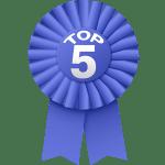 top 5 rosette