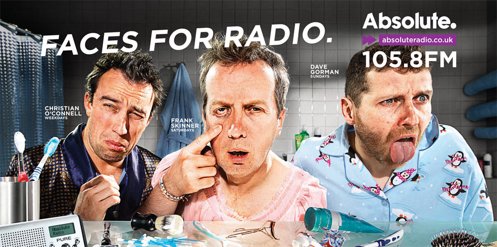 Absolute Radio - faces for radio