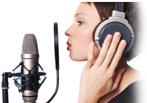 female voiceover