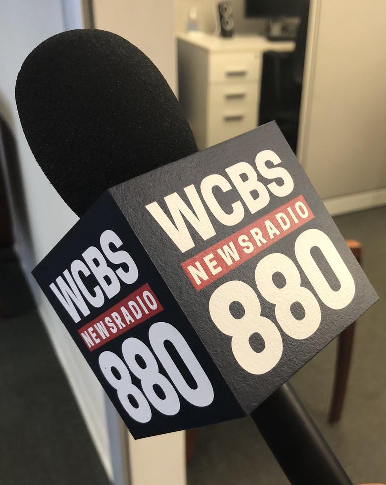 WCBS newsradio 880 mic cube