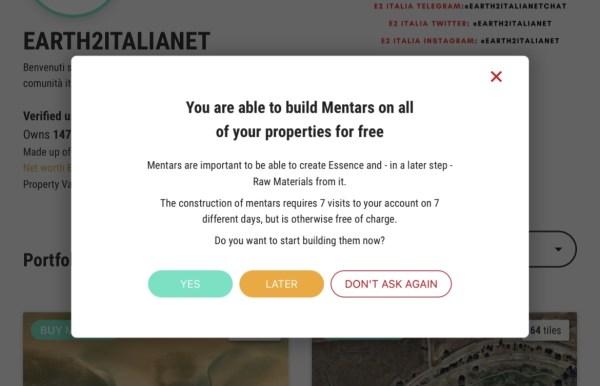 costruire mentars - earth2italia.net