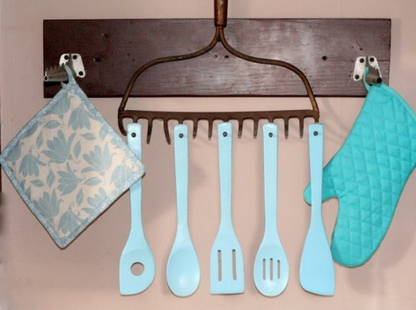rake kitchen utensil holder