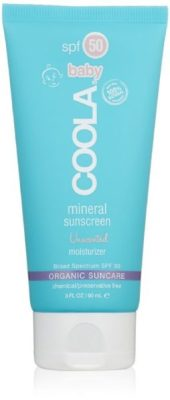 Coola organic sunscreen is a safe, environmentally friendly choice.