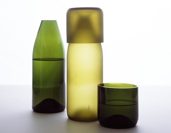 Wine bottle tumblers