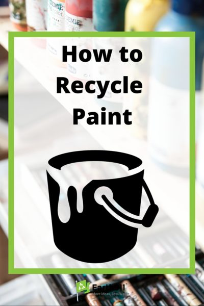 How to Recycle Paint  Earth911com