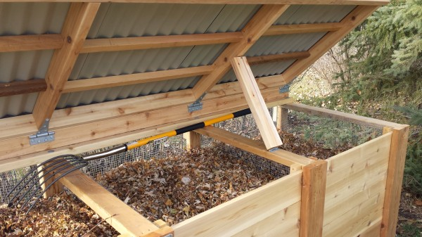 Three Times The Action Build Your Own Triple Compost Bin