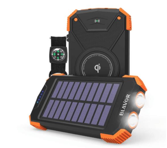 Blavor portable solar charger