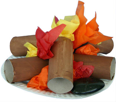Campfire roll craft