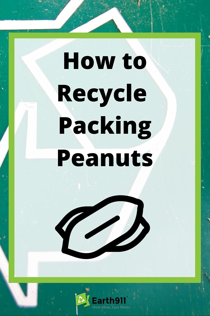 How to Recycle Packing Peanuts  Earth911com
