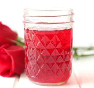 DIY rosewater toner