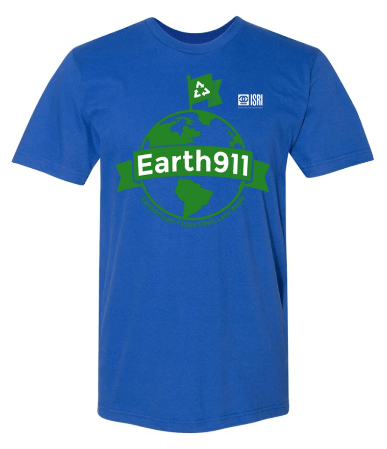 Earth911 Earth Day T-shirt (full size)