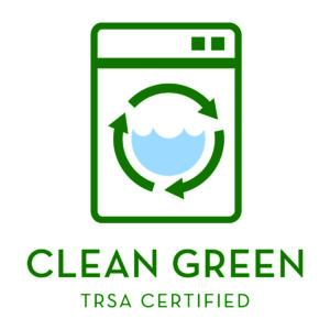 Clean Green TRSA Certified logo