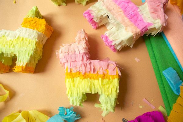 crafty mini pinatas