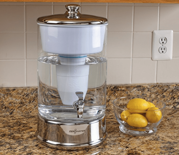 ZeroWater 40-cup Ready-Pour Glass Dispenser