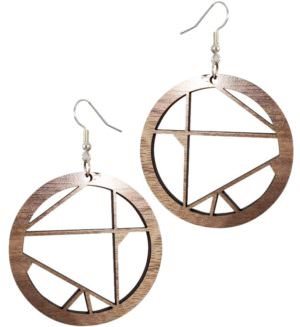 WHITL Woodworking handmade wood earrings