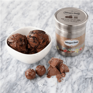 The Loop Häagen-Dazs container can be reused without recycling