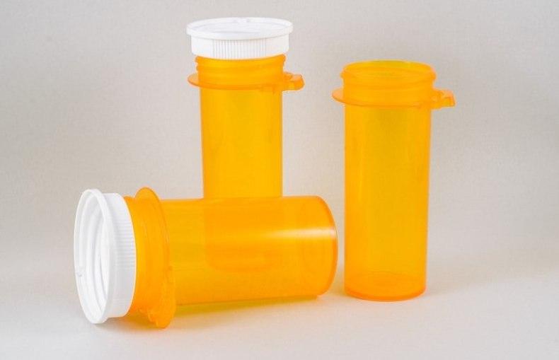 empty prescription bottles