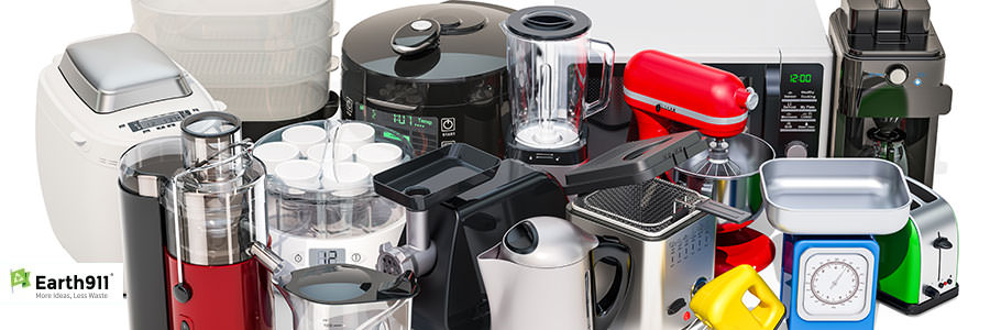 how to recycle small appliances earth911