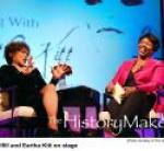 Gwen Ifill interviews Eartha Kitt