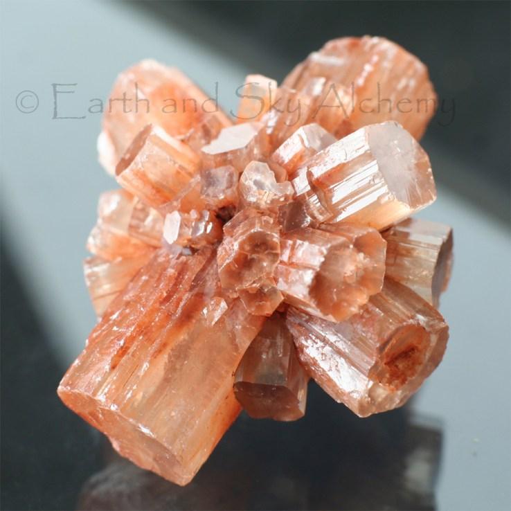 Aragonite crystal cluster