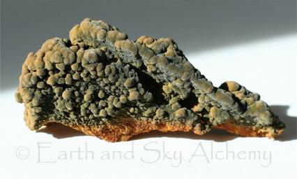 Mottramite mineral specimen
