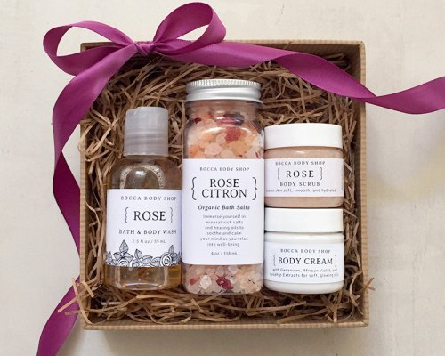 rose-bubble-bath-set