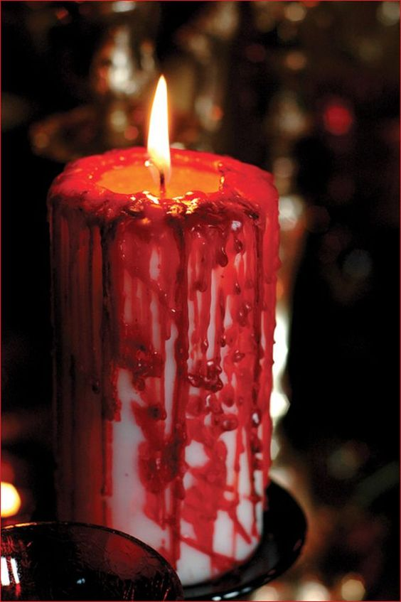 bloody-halloween-candle