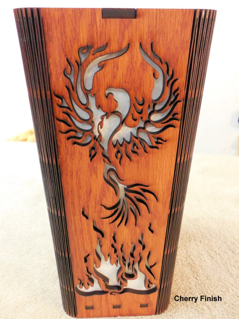 phoenix-laser-cut-wood-lamp