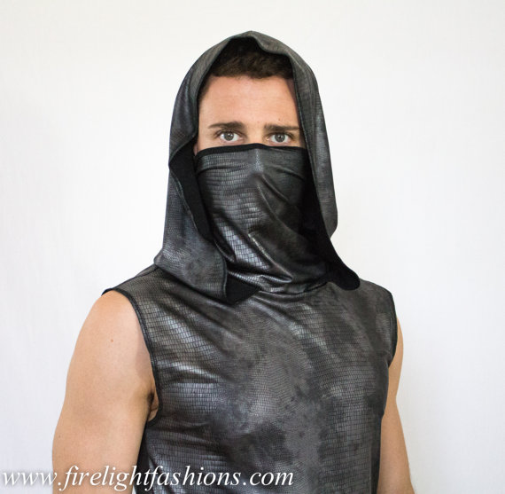sleeveless-hoodie-with-ninja-mask