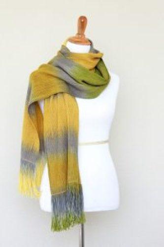 Merino wool pashmina wrap