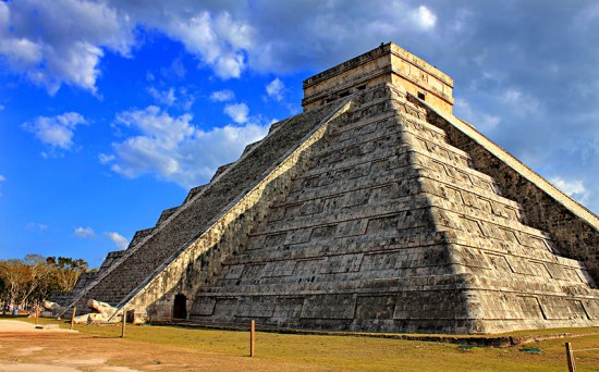 Chichen Itza pyramid in Mexico