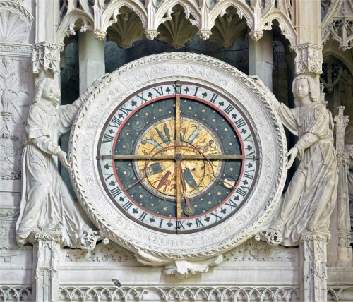 Astronomical Clock of Chartres Cathedral