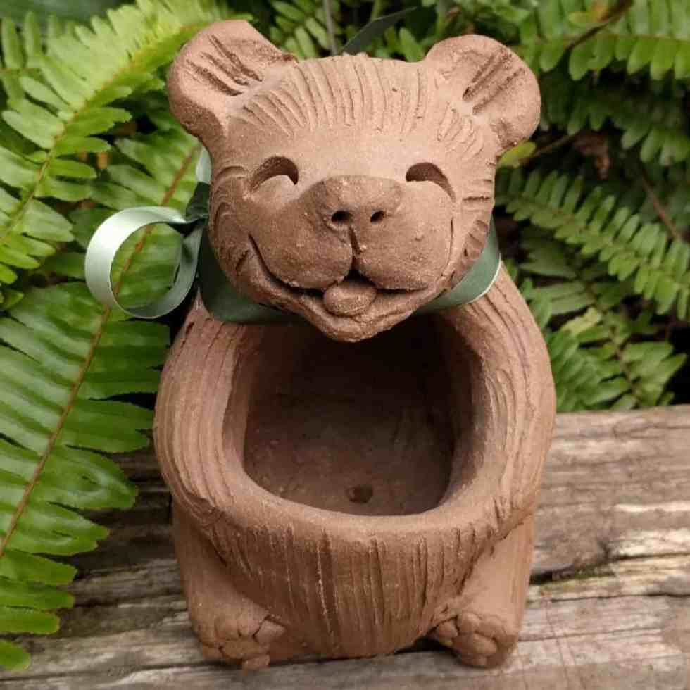 sitting_bear_planter_outside_6