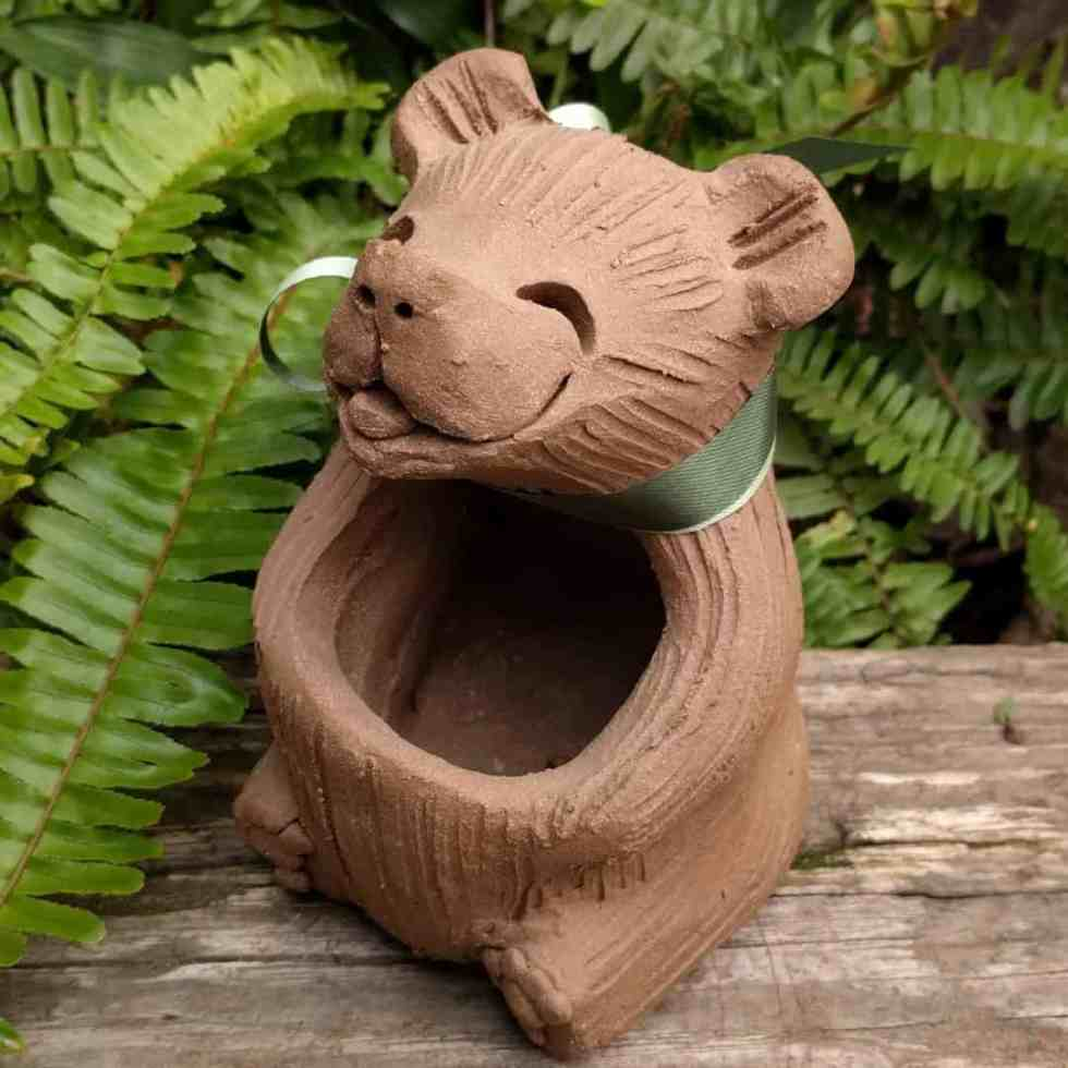 sitting_bear_planter_outside_7